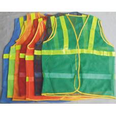 Áo phản quang vải lưới- 001
