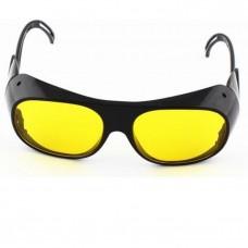 Kính bảo hộ lao động kiêm hàn xì bảo vệ mắt N110 (Đen tròng vàng)